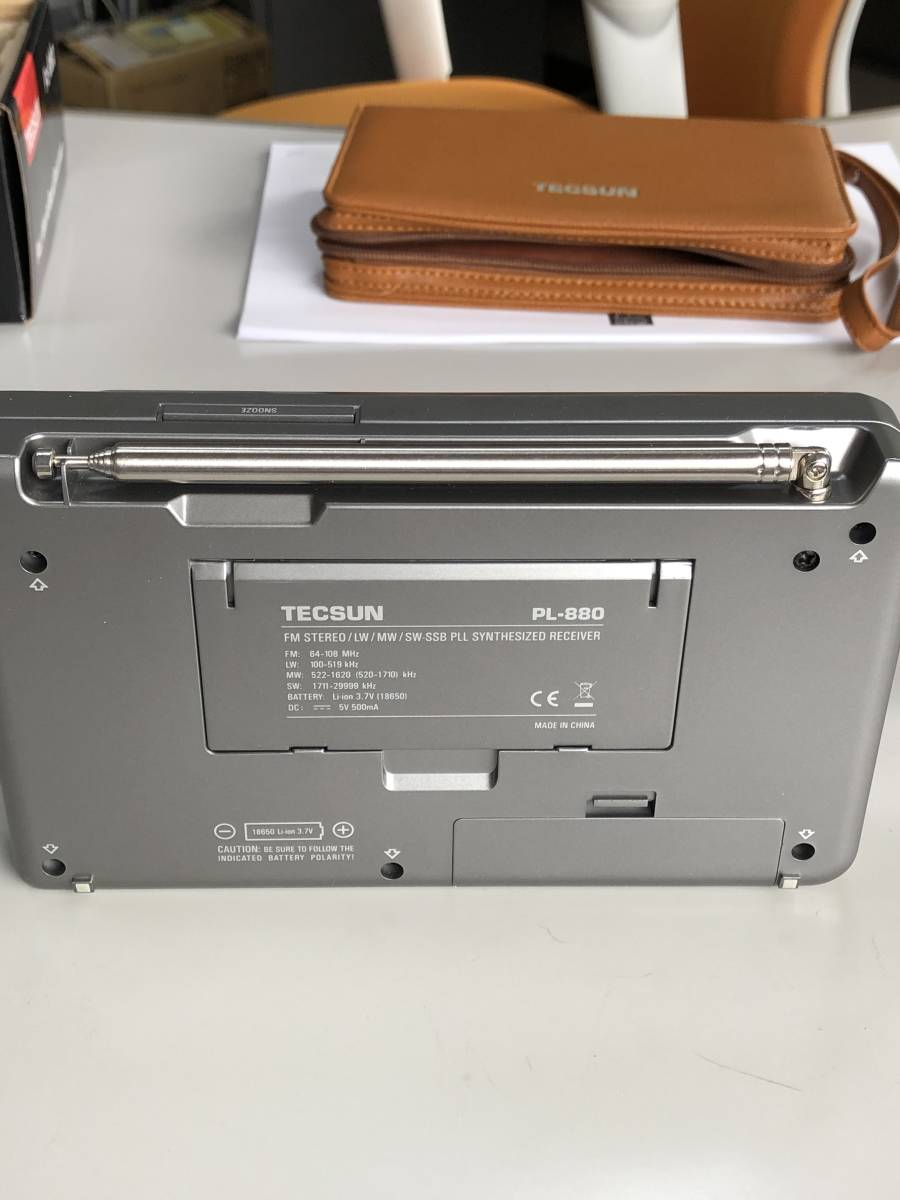♪ TECSUN PL-880 FMステレオ/LW/MW/SW SSB PLLワールドバンドレシーバー 超美品 日本語説明書 ♪_画像9