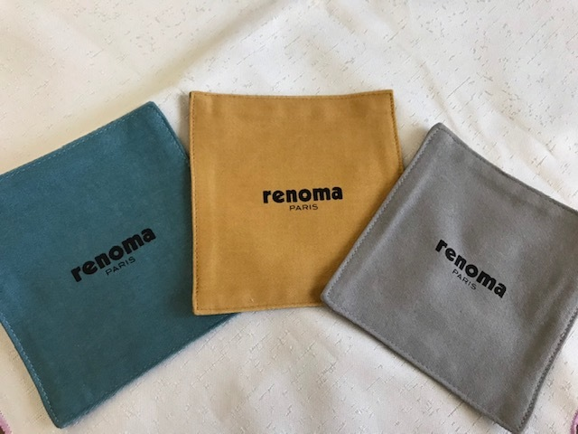 ●renoma paris レノマ*コースター&木製鍋敷きセット●新品☆_画像2
