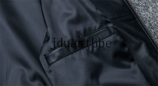 高級感満載 100%上層羊革ジャケット フライトジャケット ライダースジャケット 紳士 ベースボール服 ショートコートサイズ選択可judー01_画像7