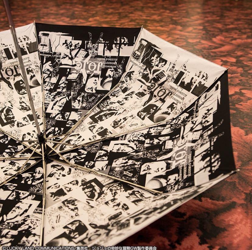 【ラストワンも出品中】一番くじ ジョジョの奇妙な冒険 黄金の風 第二弾 B賞 折りたたみ傘(未開封)_画像3
