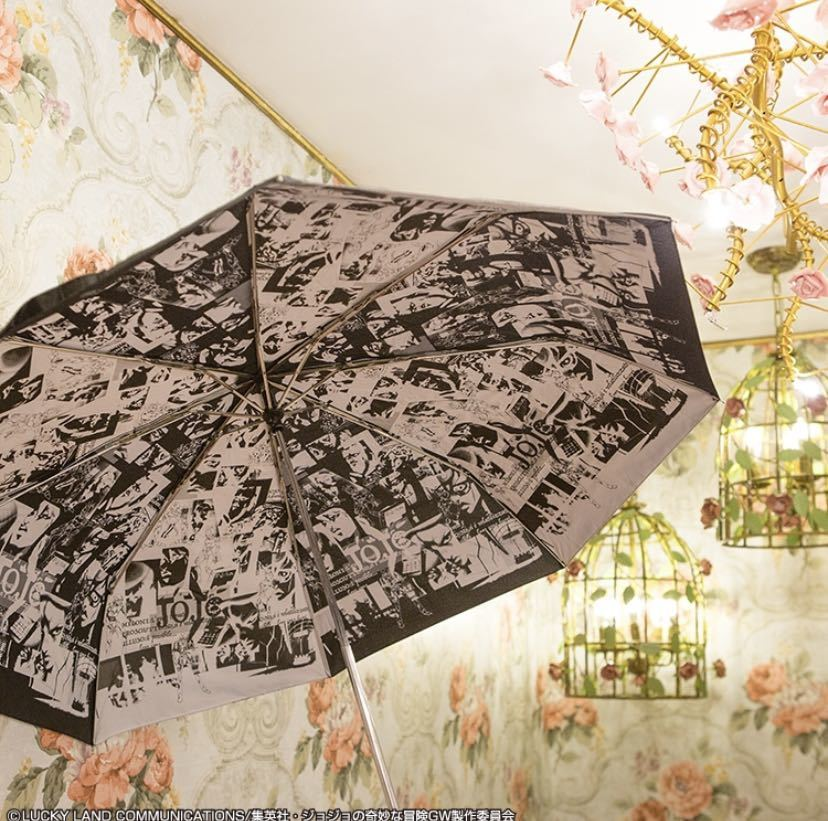 【ラストワンも出品中】一番くじ ジョジョの奇妙な冒険 黄金の風 第二弾 B賞 折りたたみ傘(未開封)_画像2