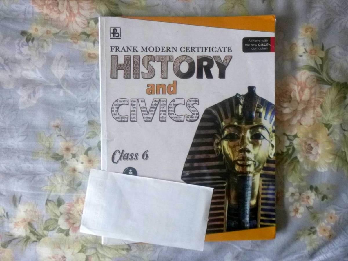 Frank Modern Certificate History and Civics Class - 6 英語テキスト_画像1