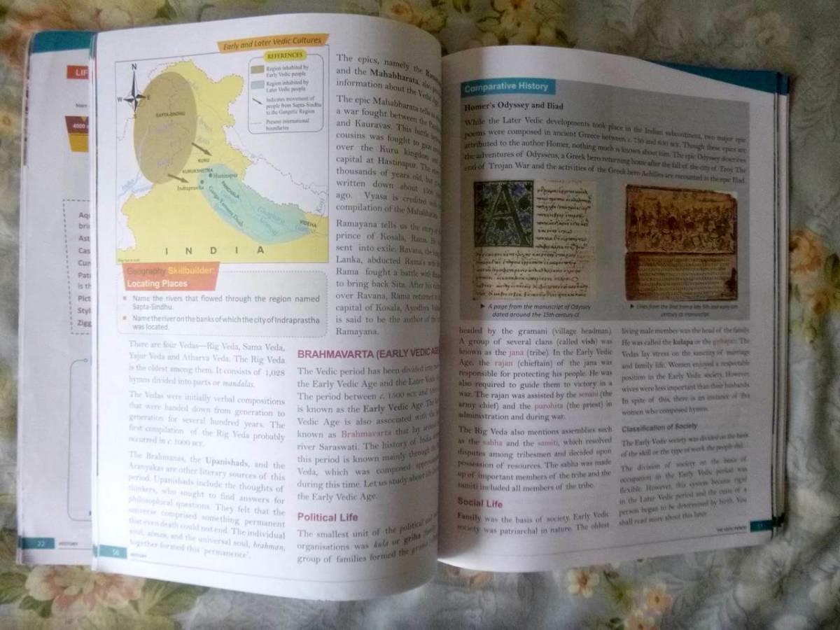 Frank Modern Certificate History and Civics Class - 6 英語テキスト_画像3