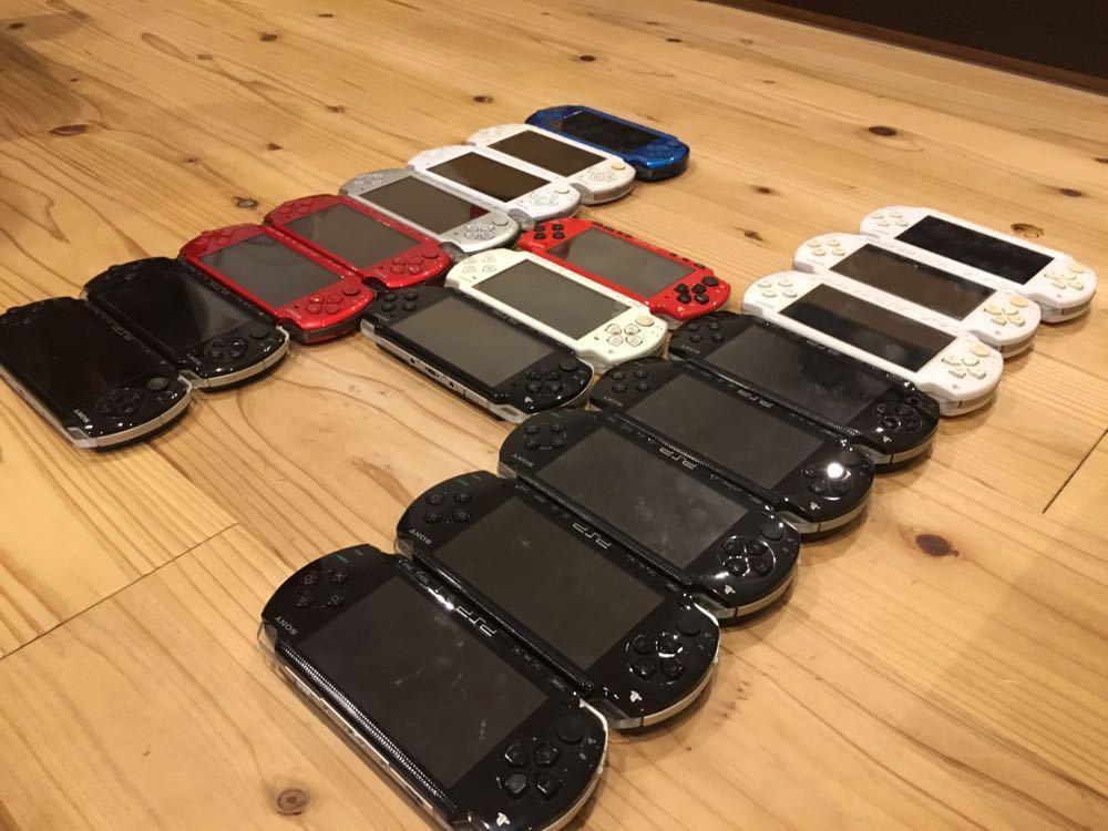 19台 色々 稼働品 ジャンク品 改造品 等 動作未確認品 PSP 大量 まとめ売り 部品取り 1000 2000 3000 プレイステーションポータブル 本体 _画像4