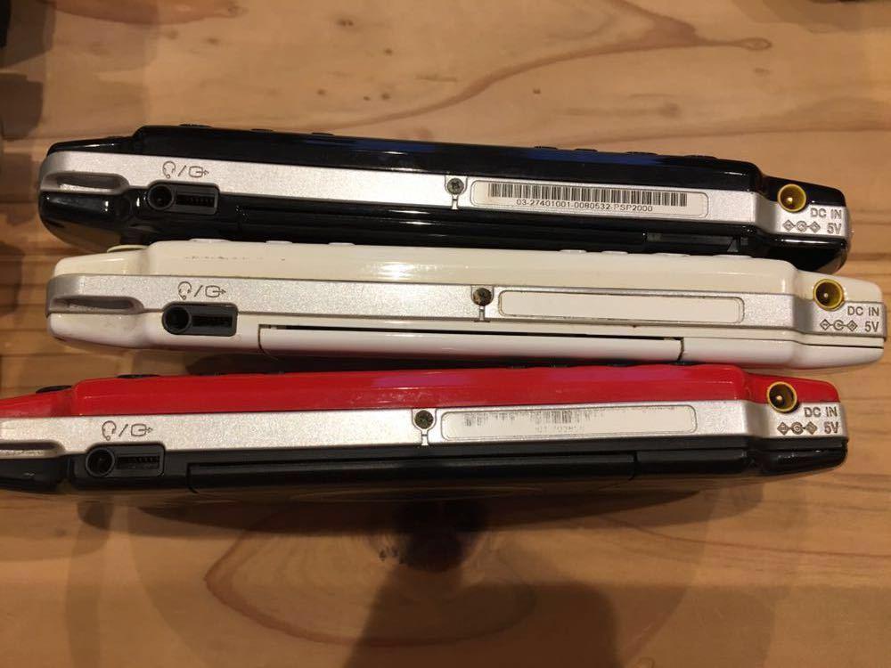 19台 色々 稼働品 ジャンク品 改造品 等 動作未確認品 PSP 大量 まとめ売り 部品取り 1000 2000 3000 プレイステーションポータブル 本体 _画像6