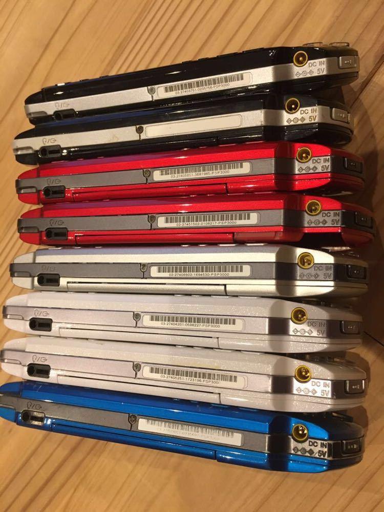 19台 色々 稼働品 ジャンク品 改造品 等 動作未確認品 PSP 大量 まとめ売り 部品取り 1000 2000 3000 プレイステーションポータブル 本体 _画像7