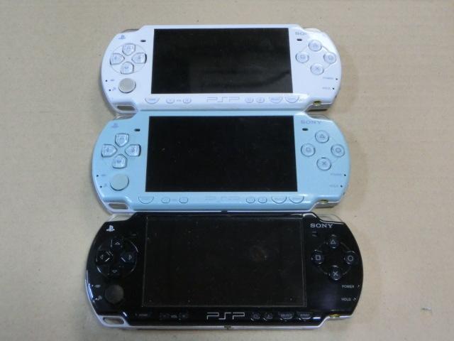 SONYソニー PSP2000本体 3台 ジャンク