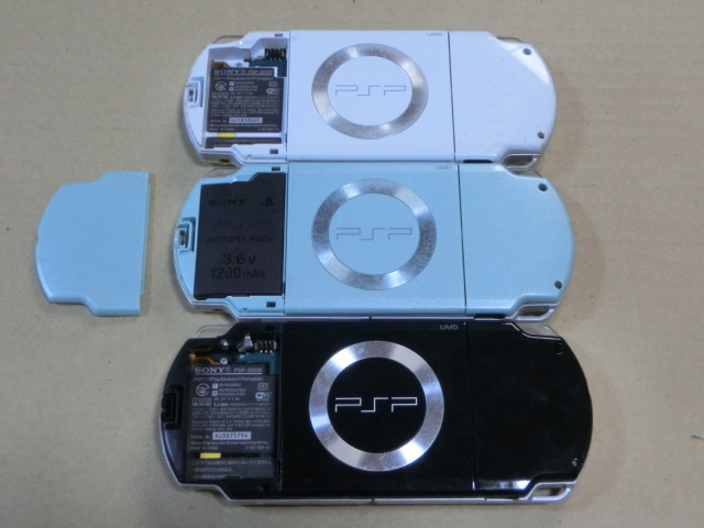 SONYソニー PSP2000本体 3台 ジャンク_画像2