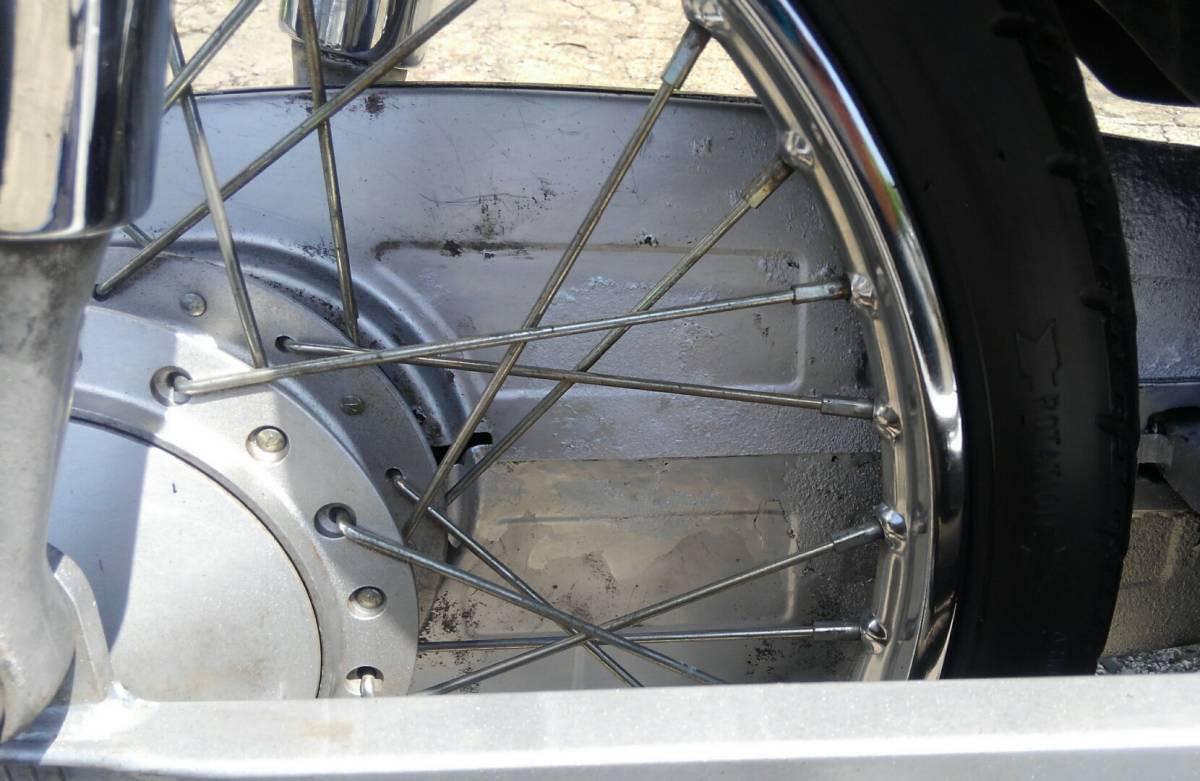 ホンダ スーパーカブ50 AA04 走行約7900km 便利なボックス付き_画像9