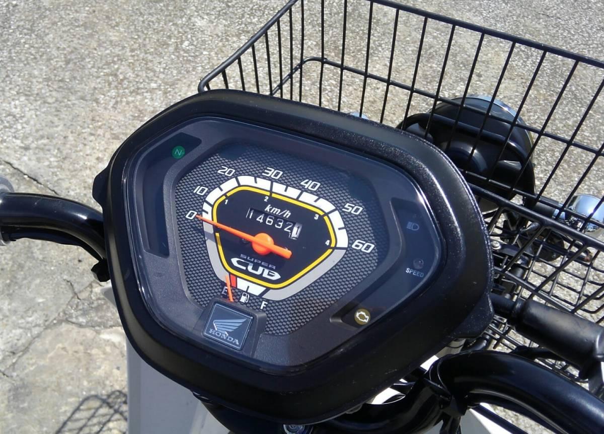 ホンダ スーパーカブプロ50 AA04 走行距離約15000km 通勤、通学にも 実動_画像3