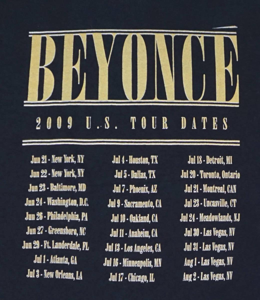 激レア! BEYONCE 『I AM... SASHA FIERCE』 ツアー Tシャツ JAY-Z KANYE WEST ASAP ROCKY NAS NWA 2PAC_画像5