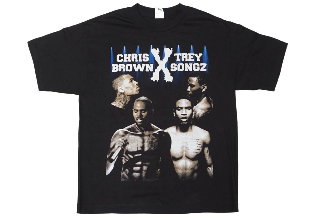 デッドストック! CHRIS BROWN & TREY SONGZ 『BETWEEN THE SHEETS』 ツアー Tシャツ JAY-Z BEYONCE KANYE WEST ASAP ROCKY NAS 50CENT_画像1