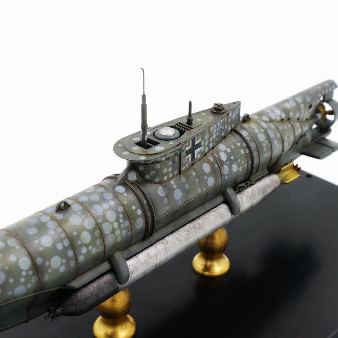 1/72ドイツキク型小型潜水艦XXVII型(早期型)_画像5