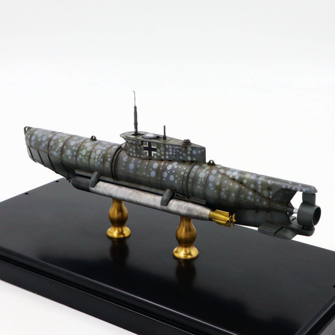 1/72ドイツキク型小型潜水艦XXVII型(早期型)_画像8
