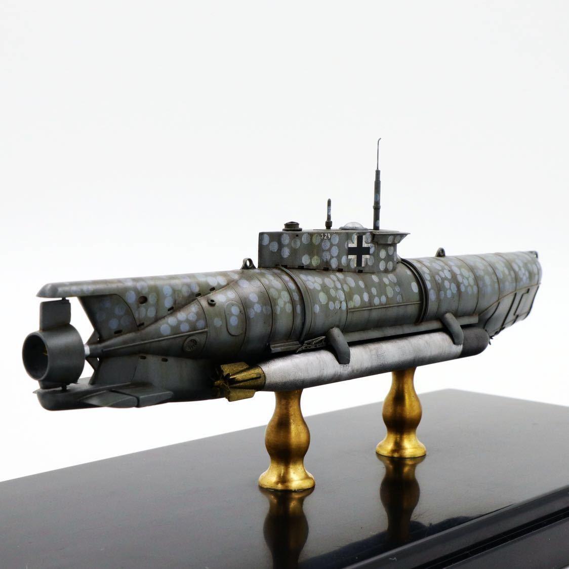1/72ドイツキク型小型潜水艦XXVII型(早期型)_画像3
