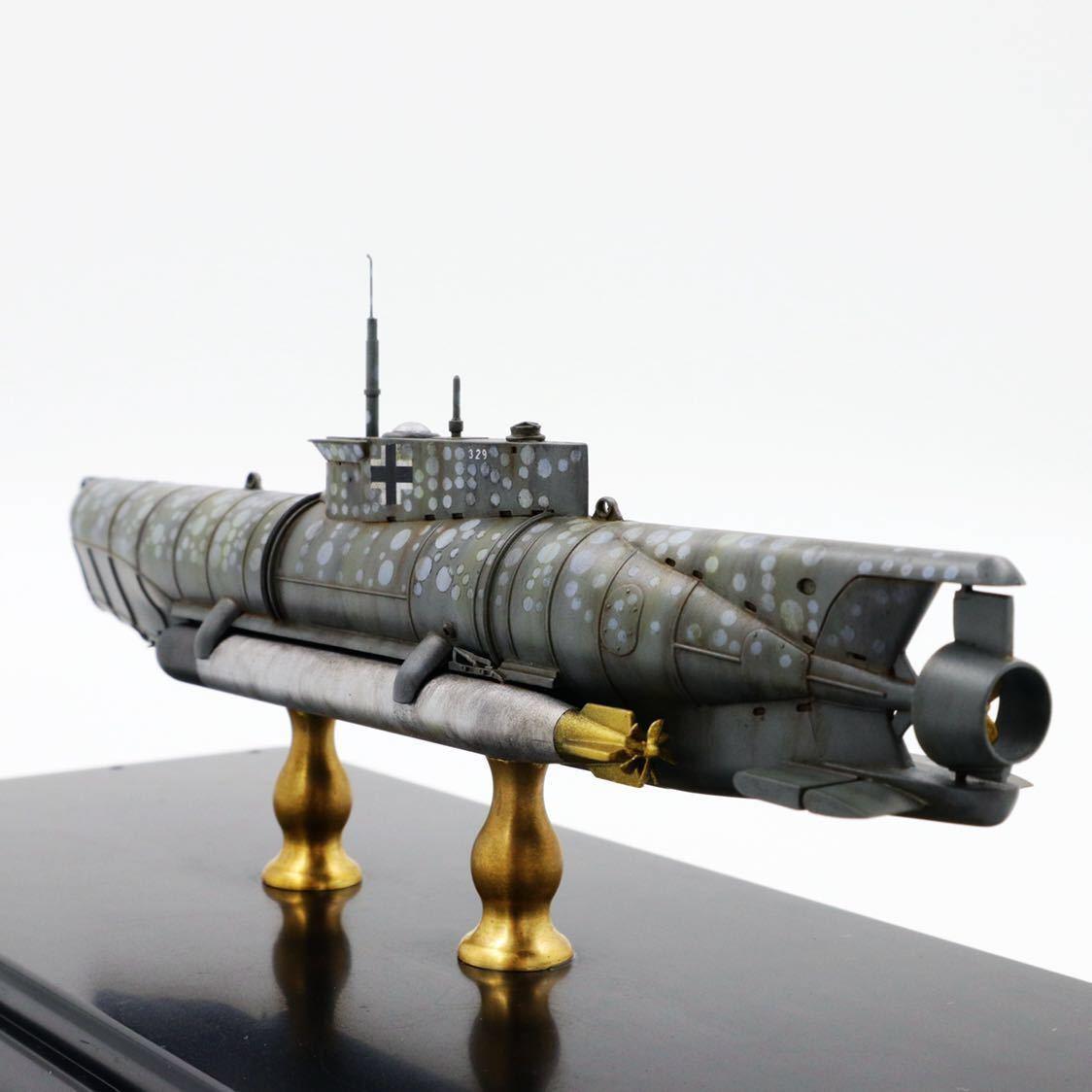 1/72ドイツキク型小型潜水艦XXVII型(早期型)_画像2