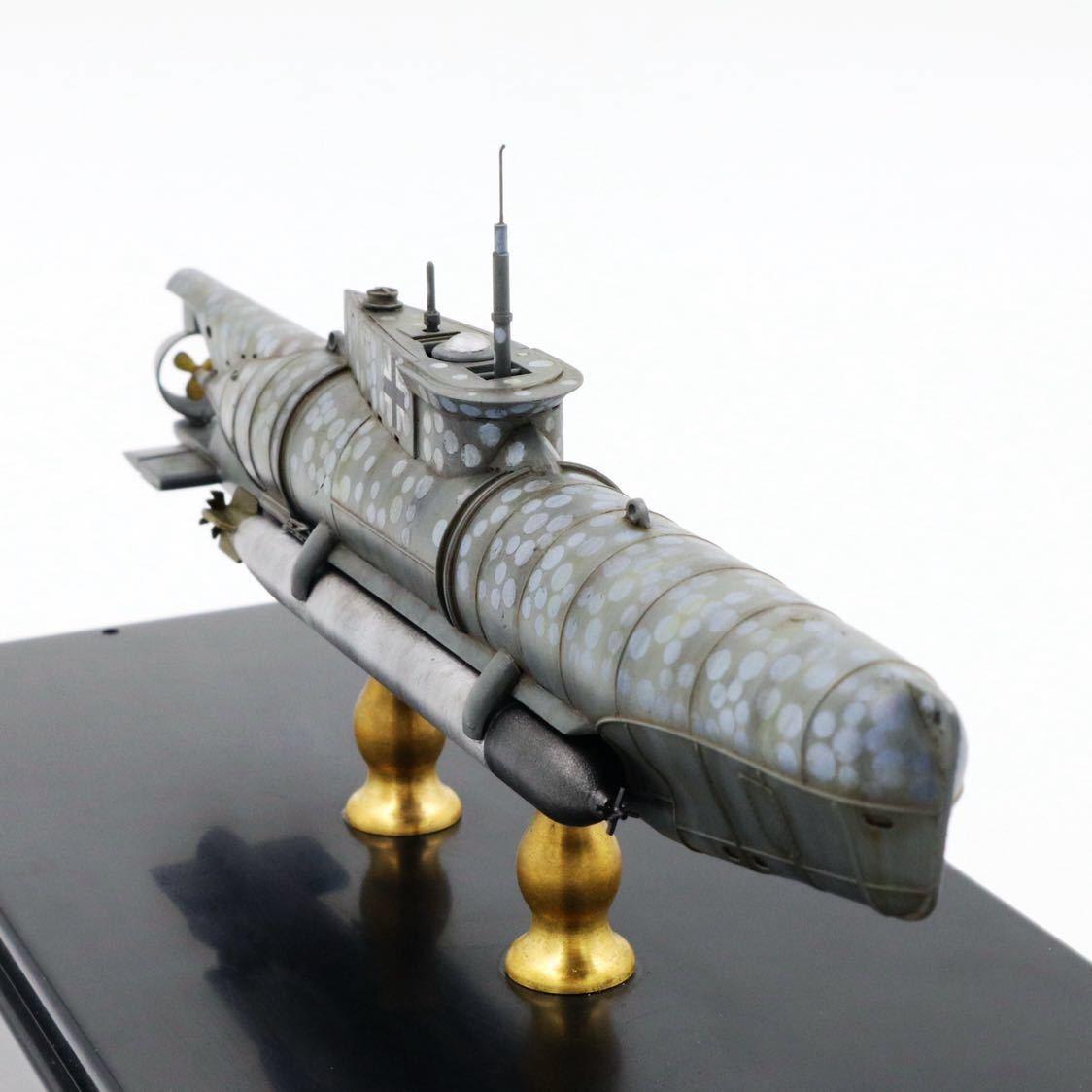 1/72ドイツキク型小型潜水艦XXVII型(早期型)_画像9