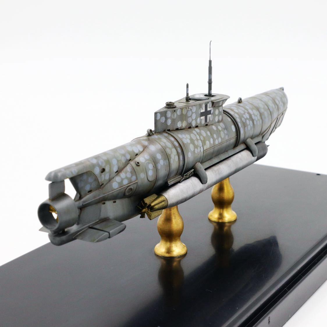 1/72ドイツキク型小型潜水艦XXVII型(早期型)_画像10