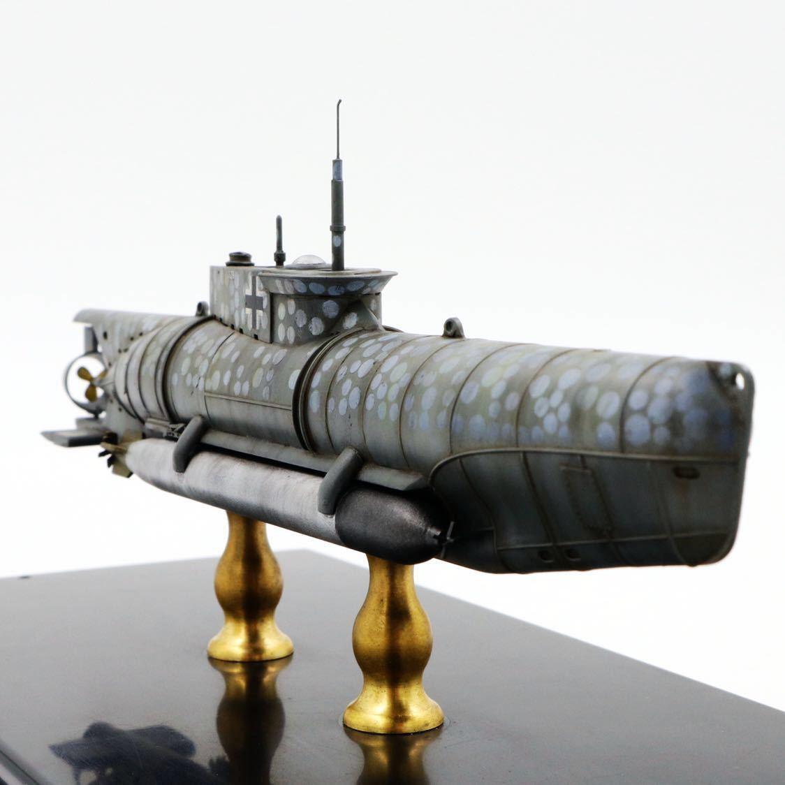 1/72ドイツキク型小型潜水艦XXVII型(早期型)_画像4