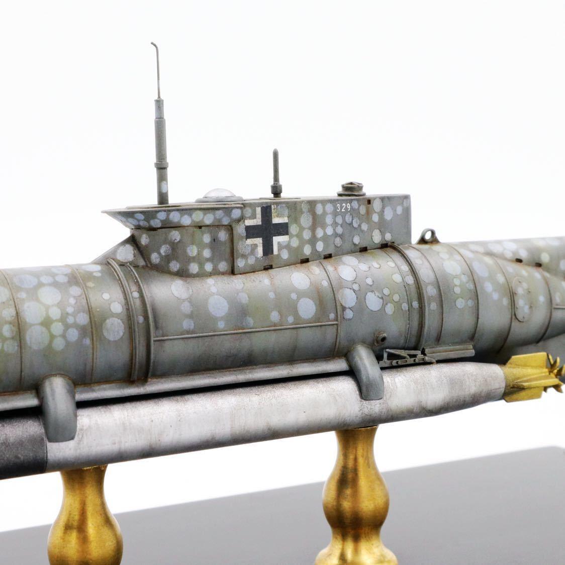 1/72ドイツキク型小型潜水艦XXVII型(早期型)_画像6