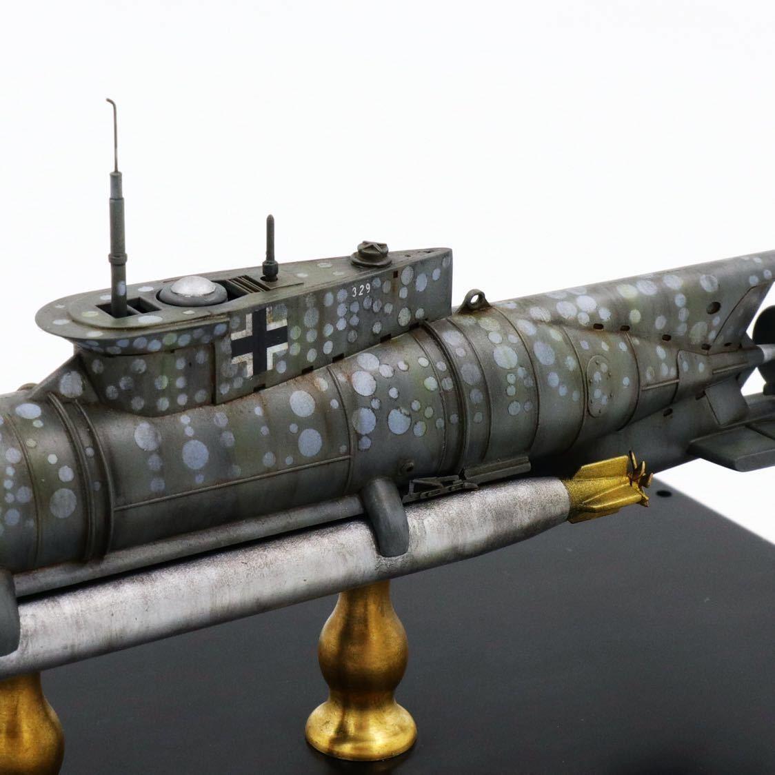 1/72ドイツキク型小型潜水艦XXVII型(早期型)_画像7