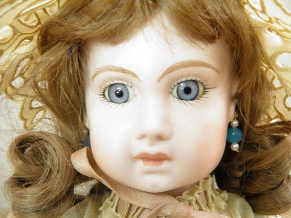 ◇ビスクドール DEPOSE E14J デポゼ 西洋人形 女の子 約48cm アンティーク /l-39201_画像7