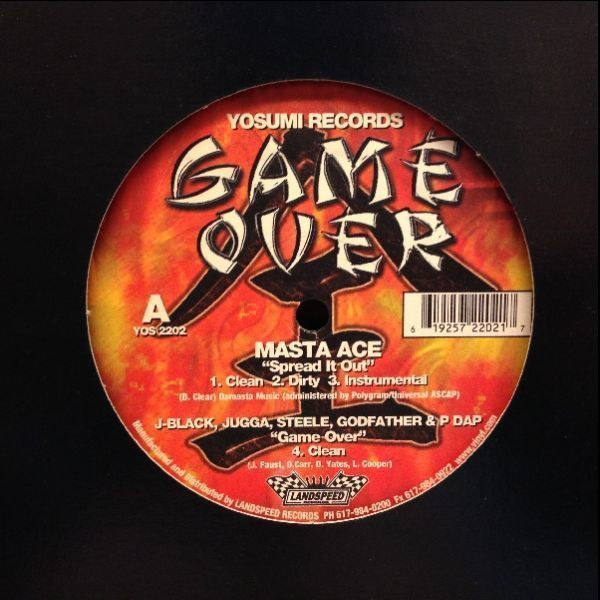 12inchレコード ■ MASTA ACE / SPREAD IT OUT_画像1
