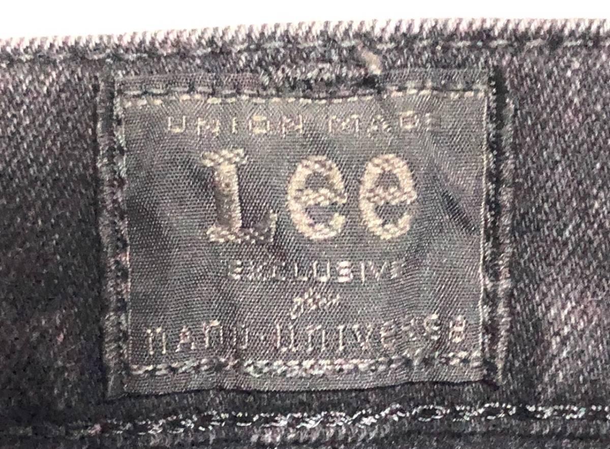 即決 Lee×nano universe リー ナノユニバース コラボ ジーンズ ジーパン デニムパンツ メンズ W30相当 Sサイズ ウエスト約77cm ストレッチ_画像5