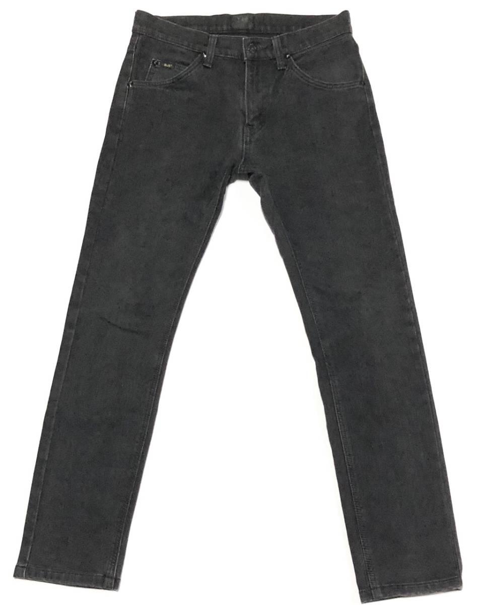 即決 Lee×nano universe リー ナノユニバース コラボ ジーンズ ジーパン デニムパンツ メンズ W30相当 Sサイズ ウエスト約77cm ストレッチ_画像2