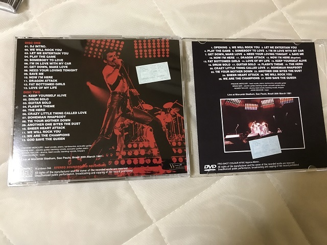 【送料無料】美品 Queen クイーン Definitive Sao Paulo 1981 Pre-FM Master + Definitive Sao Paulo 1981: The Video 初回プレス盤_画像3