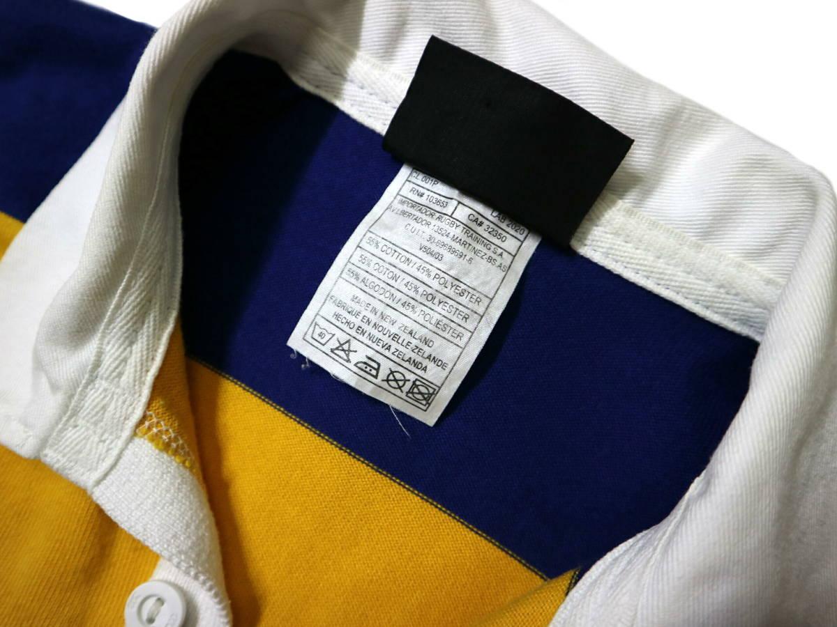 良好!◆NZ製 カンタベリー STEAMERS 刺繍&プリント ラガーシャツ◆やや大きめLサイズ_画像10