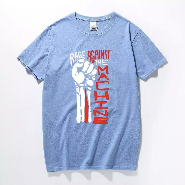 RAGE AGAINST THE MACHINE Tシャツ バンド バンT レイジアゲインストザマシーン Tee Tシャツ 半袖Tシャツ プリントTシャツ_画像5