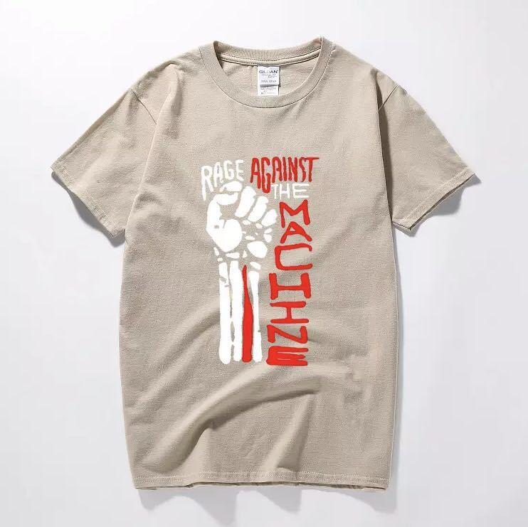 RAGE AGAINST THE MACHINE Tシャツ バンド バンT レイジアゲインストザマシーン Tee Tシャツ 半袖Tシャツ プリントTシャツ_画像9