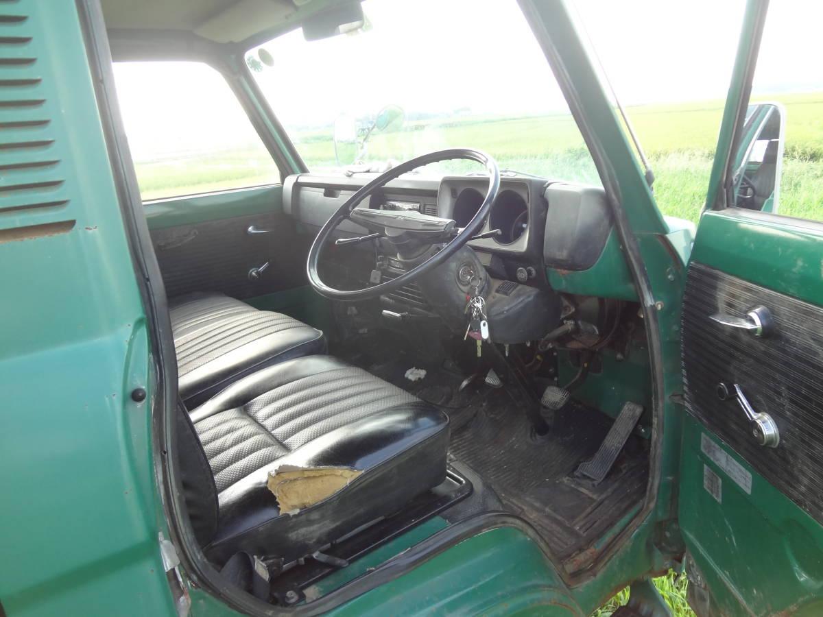 旧車 日産 クリッパートラック ユニッククレーン付き アトラストラックのご先祖 実動 書類有り 超貴重車_画像8