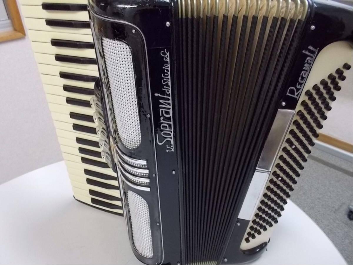 V.soprai.Silvi ano.recanti.3列41鍵盤120ベース蘇る、最高サウンド整備済みITALY製、流石名門最高のリード搭載