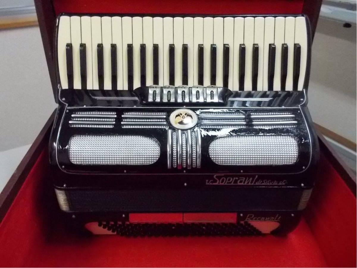 V.soprai.Silvi ano.recanti.3列41鍵盤120ベース蘇る、最高サウンド整備済みITALY製、流石名門最高のリード搭載_画像5