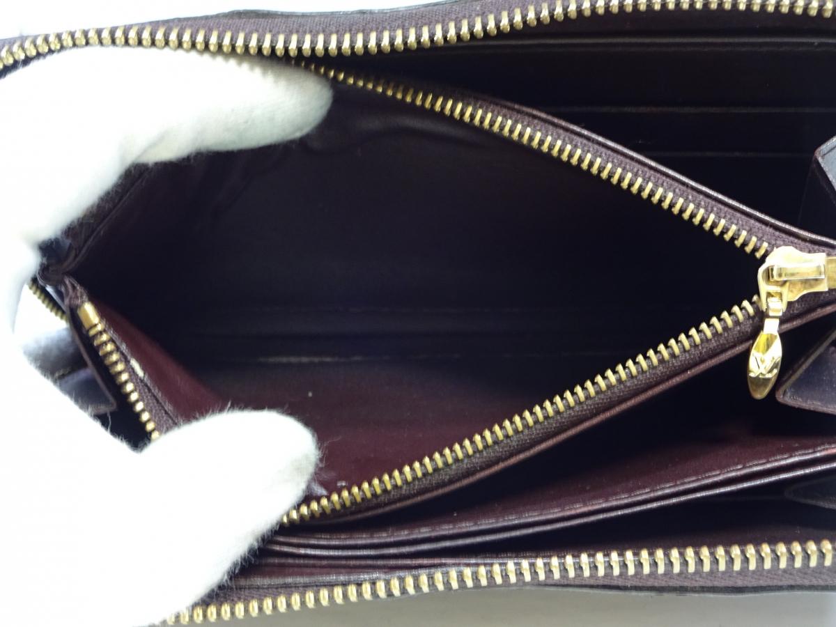 【超美品】 ルイヴィトン Louis Vuitton ヴェルニ ジッピーウォレット 長財布 アマラント 紫 エレガンス おしゃれ メンズ可 定価約10万円