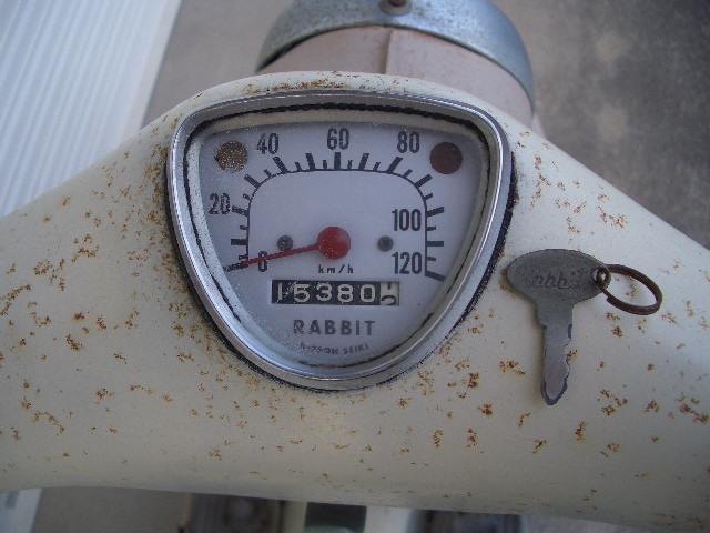 希少 昭和 43年 ビンテージ 旧車 富士重工 S 301 ラビット スパーフロー 最終型 安価 売切!!_画像10
