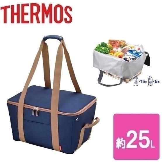 [売り切れ御免]サーモス 保冷 買い物カゴ用バッグ 約25L