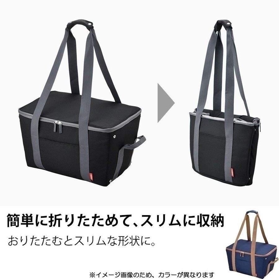 [売り切れ御免]サーモス 保冷 買い物カゴ用バッグ 約25L_画像4