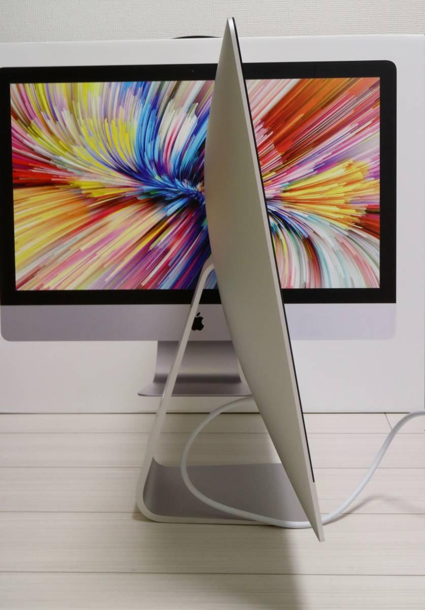 SSD2TB!Apple iMac Retina 5K 27インチ 2017 Core i7 4.2GHz/64GB/Radeon Pro 580 アルティメット_画像7