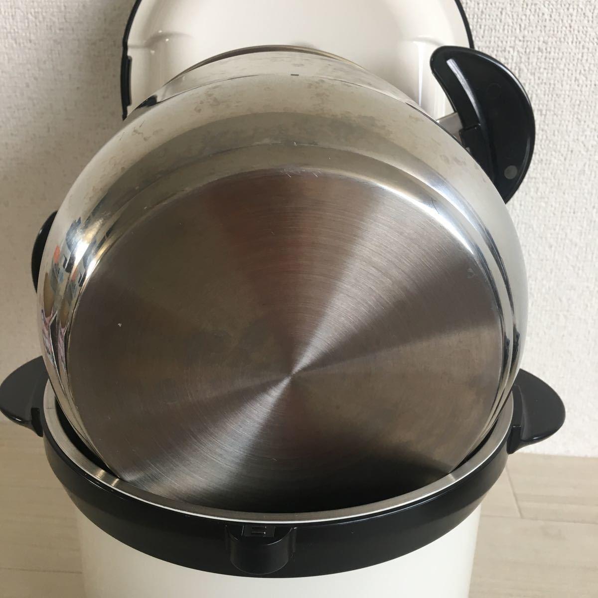 (H187)美品 THERMOS/サーモス 真空保温調理器 シャトルシェフ KBH-4501( OWH)_画像6
