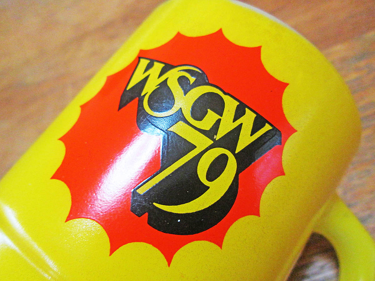 ★超お買得★ペア★USAビンテージ★FMラジオ WSGW 79/アドバタイジング スタッキング マグカップ/ファイヤーキング/アンカーホッキング_画像7