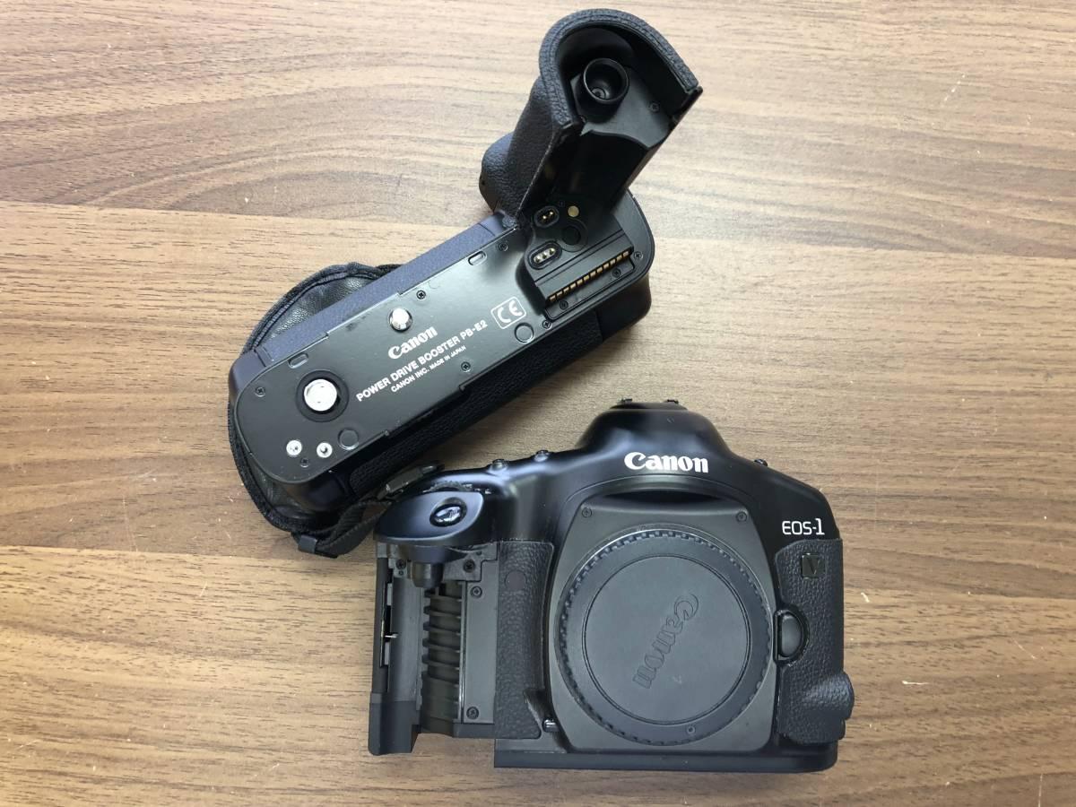 1円スタート キャノン Canon EOS 1V  (PB-E2付)  ボディ_画像2