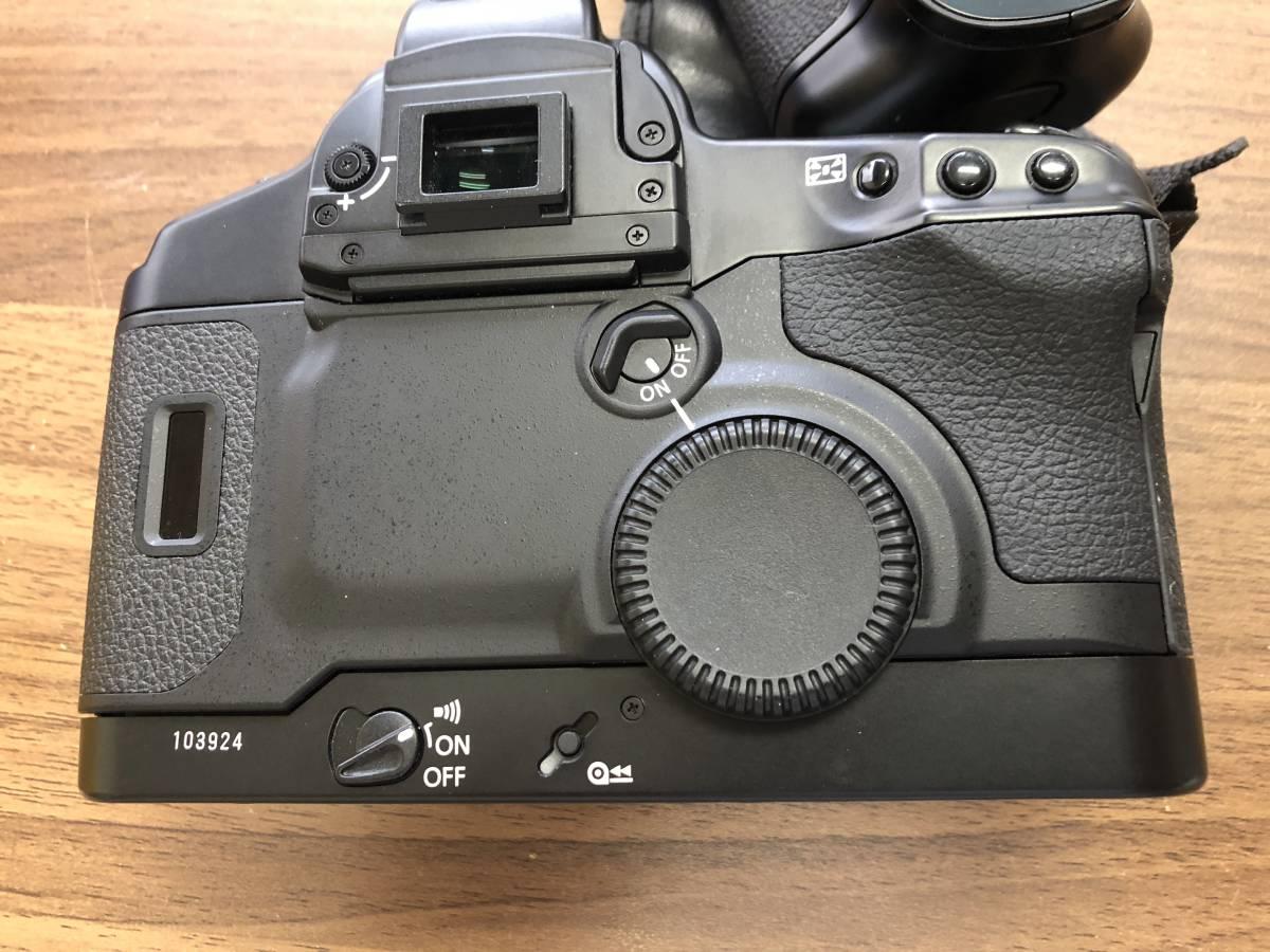 1円スタート キャノン Canon EOS 1V  (PB-E2付)  ボディ_画像5