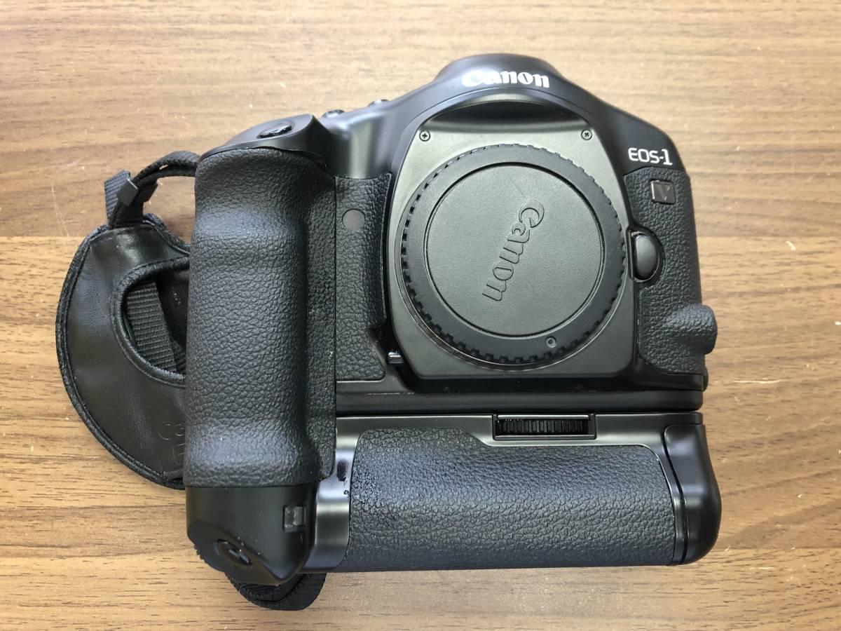 1円スタート キャノン Canon EOS 1V  (PB-E2付)  ボディ_画像10