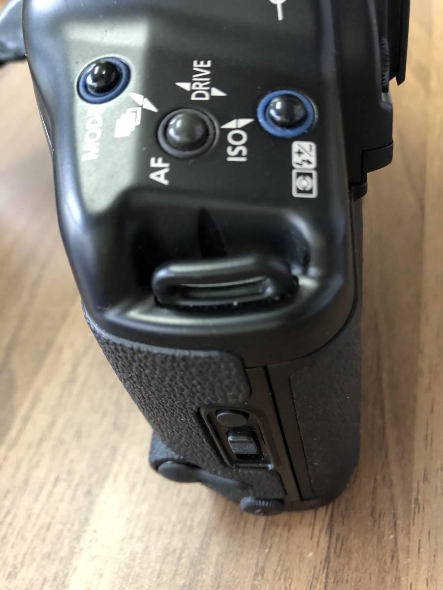 1円スタート キャノン Canon EOS 1V  (PB-E2付)  ボディ_画像9