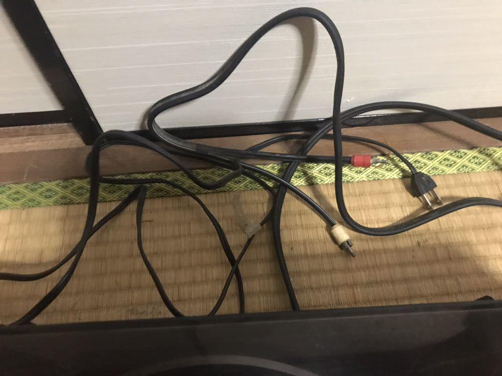 Victor CD-4 ターンテーブル レコードプレーヤー ジャンク。 ターンテーブルは回転しません。_画像4