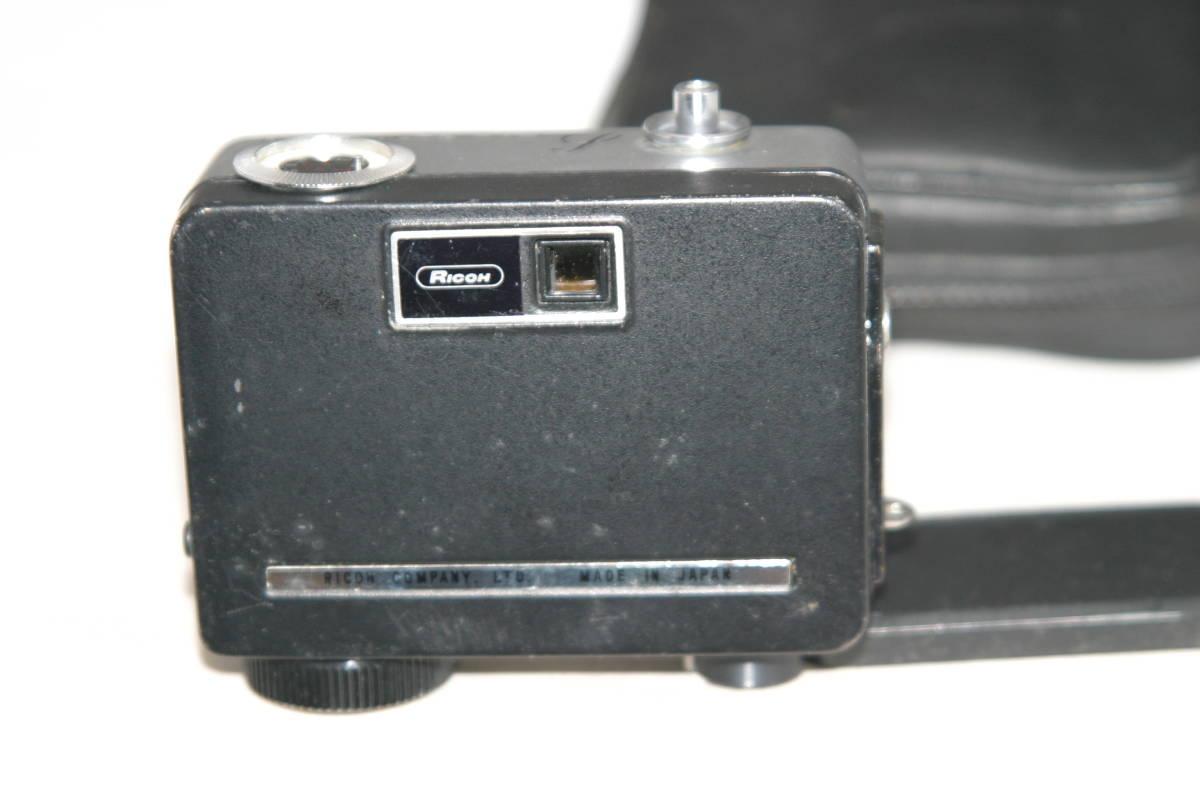 整備済 リコーオートハーフ S 黒縞模様 モルト張替済 キャップ・ケース・ストラップ付_画像3