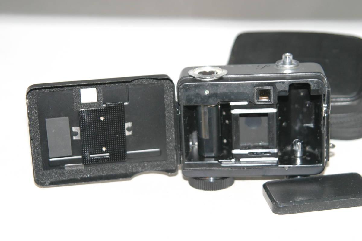 整備済 リコーオートハーフ S 黒縞模様 モルト張替済 キャップ・ケース・ストラップ付_画像4